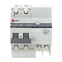 Дифференциальный автомат АД-2 10А/30мА (характеристика C, тип AC) 4,5кА EKF
