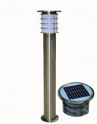 SC-LKO-PIL48A Stilp pitic exterior autonom cu LED si panel solar 2W, 100cm