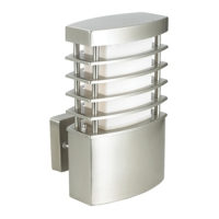 Greengo GARDEN LIGHT SATIN NICKEL GO-7029