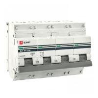 Автоматический выключатель BA 47-100 4п 100A C EKF