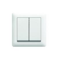 Выключатель 2-клавишный LUMINA2 WL0040/WL0041