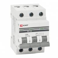 Выключатель нагрузки 3P 100А ВН-125 EKF PROxima