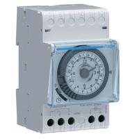 Таймер эл. механический,с суточным циклом, 1П/16А 230В 50Гц AC1, tперекл.=15мин, запас хода 200ч,