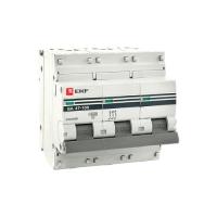Автоматический выключатель BA 47-100 3п 100A C EKF