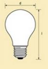 Стандартные лампы общего применения, цветные