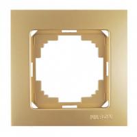 Рамка 1 местная золото Touran Lux Plus