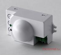 Датчик движения свч GLANZEN MMS-01-08M-360