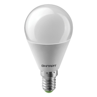 Светодиодные лампы  LED OLL-G45-10-230-6500K E14 ОНЛАЙТ