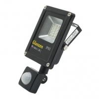 Светодиодный прожектор c датчиком движения GLANZEN FAD-0017-10 (10 Вт, 6000К)