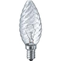 Лампы накаливания формы «свеча» NI-TC-60-230-E14-CL